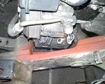 Kravas automašīnas suporta vadīklu atjaunošana