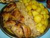 курица с кортошкой и капустой